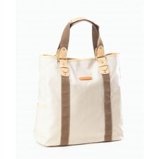 Carina Vertical Tote in Stone