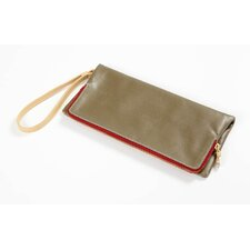 Carina Foldover Clutch in Army