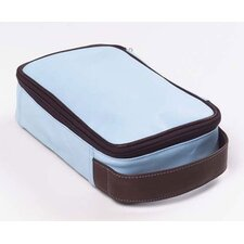 Colored Vachetta Travel Accessory / Toiletry Kit