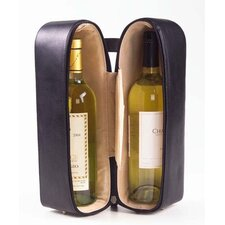 <strong>Clava Leather</strong> Tuscan Two Bottle Wine Holder