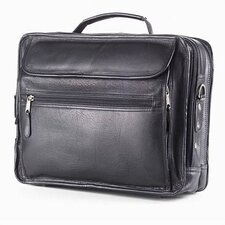 Vachetta Extra Large Leather Laptop Briefcase