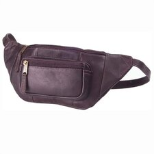 <strong>Clava Leather</strong> Vachetta Kangaroo Pouch Hip Pack in Café