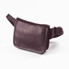 <strong>Clava Leather</strong> Vachetta Wallet on a Waist in Café