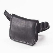 Vachetta Wallet on a Waist in Black
