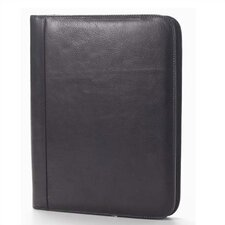 Tuscan Zip Padfolio in Black
