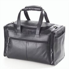 "Quinley Promo 17"" Leather Travel Duffel"