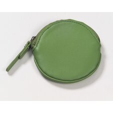Round Coin Purse in Apple