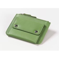 <strong>Clava Leather</strong> Coin Wallet in Apple