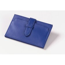 Accordion Business Card Wallet in Blue