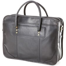 <strong>Clava Leather</strong> Leather Laptop Briefcase