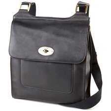 <strong>Clava Leather</strong> Flap Turnlock Cross-Body
