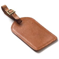 <strong>Clava Leather</strong> Tuscan Rectangle Luggage Tag