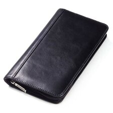 <strong>Clava Leather</strong> Glazed Leather Passport Travel Wallet