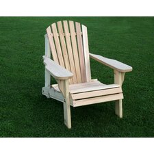 Cedar Furniture and Accessories American Forest Adirondack Chair