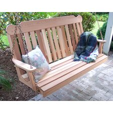 <strong>Creekvine Designs</strong> Cedar Porch Swing