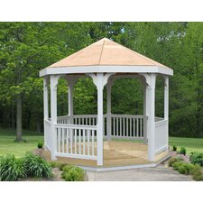 <strong>Creekvine Designs</strong> 10' Vinyl Gazebo