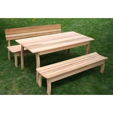 Cedar Odd Couple Dining Set