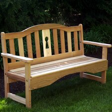 <strong>Creekvine Designs</strong> Cedar Benches Garden Bench