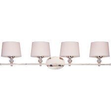 <strong>Taniya Nayak</strong> Crystal Ball 4 Light Vanity Light