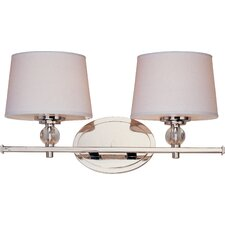 <strong>Taniya Nayak</strong> Crystal Ball 2 Light Vanity Light