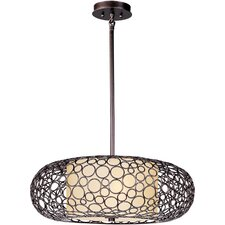 Taniya Nayak 2 Light Bliss Drum Pendant