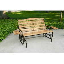 Country Garden Glider with Trays