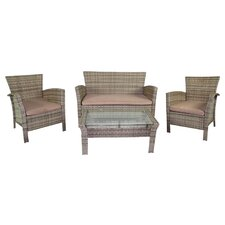 <strong>Jack Post</strong> 4 Piece Bench Seating Group
