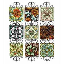 Toscana Assorted Plates / Metal Wall Décor (Set of 3)