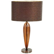 """Urban Trends 20.87"""" H Table Lamp with Drum Shade"""