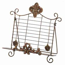 Rustic Metal Book Holder