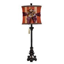 Toscana Table Lamp with Drum Shade