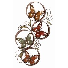 Toscana Metal Butterfly Décor