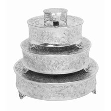 Metro Aluminum Cake Stand (Set of 4)