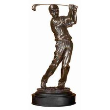 Urban Trends Polystone Male Golfer
