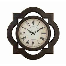 Toscana Scalloped Wood Wall Clock