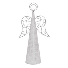Christmas Metal Angel Figurine