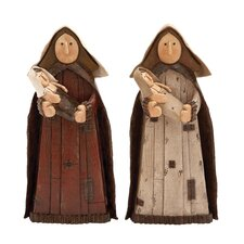 <strong>UMA Enterprises</strong> Virgin Mary Figurine (Set of 2)
