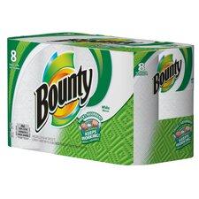 Bounty 2-Ply Paper Towel - 52 Sheets per Roll / 8 Rolls per Pack