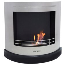 VioFlame Curved Ethanol Fireplace
