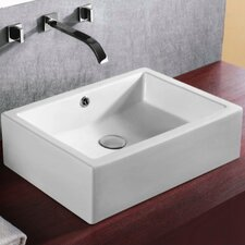 <strong>Caracalla</strong> Ceramica Rectangular Bathroom Sink