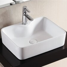 <strong>Caracalla</strong> Ceramica II Vessel Bathroom Sink