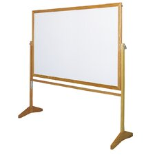 "Premiere Reversible 3' 6"" x 5' Whiteboard"