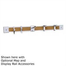 <strong>Claridge Products</strong> No. 74 Deluxe Map and Display Rail