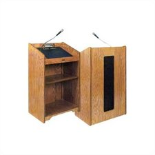 <strong>Claridge Products</strong> No. 1743 Premiere Amplified Lectern