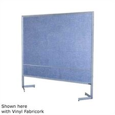 Premiere Portable Space Divider with Green Chalkboard