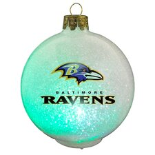 NFL LED Changing Ornament