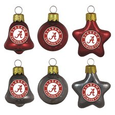 NCAA Ornament Set (Set of 6)