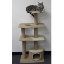 "52"" Multi-Level Cat Tree with Condo"