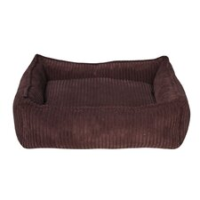 Corduroy Donut Dog Bed