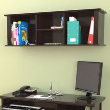 "Wall-Mounted 14.94"" H x 47"" W Desk Hutch"